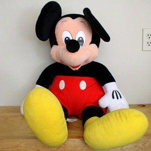"Mickey Mouse Plush Stuffed Animal Jumbo XLarge 32"""